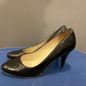 Paul Smith Oxford Style Black High Heel Pump